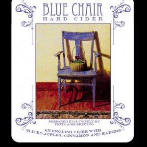 bluechair_cider_label