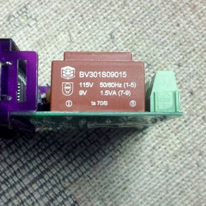 STC1000120VACtransformer
