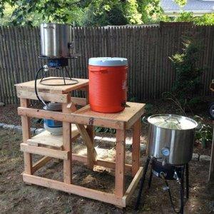 Jbyrd Brewing Brewstand