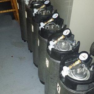 Storage Keg Pressure Gauges