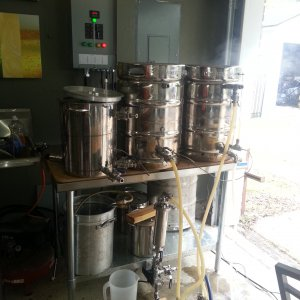 Electric Brewery Cooling Prep 2