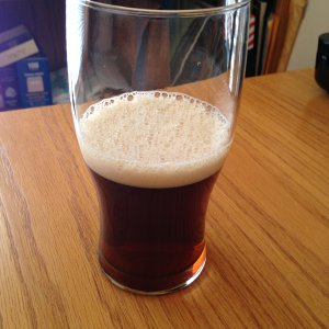 Azimuth of Fire Brown Ale