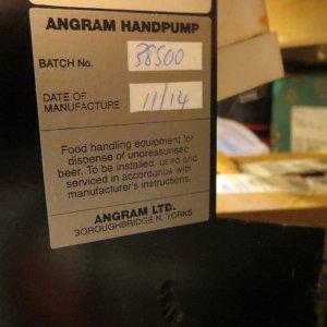 Angram Beer engine