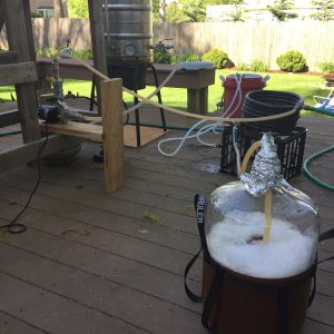 Brew Set Up