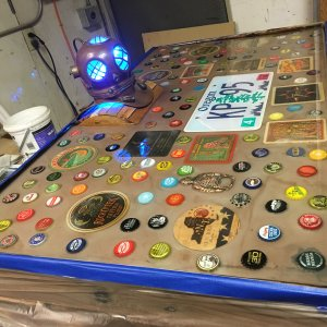 Rebuild of the Keezer lid