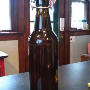 Flip top .5l bottle