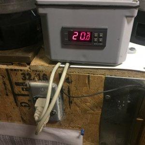 Temp Controler For Fermenation Fridge