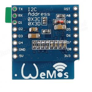Wemos OLED I2C shield