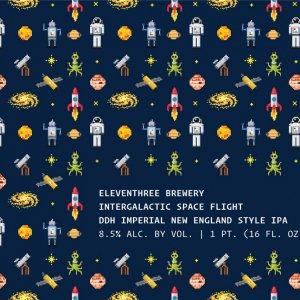 Eleventhree Brewing: Intergalactic Space Flight
