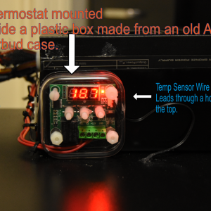 ThermoMounted CovertedEarBudBox