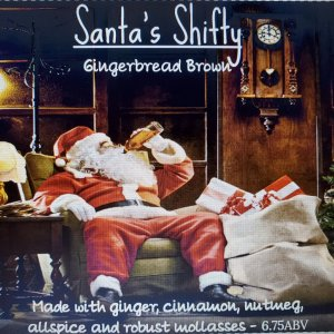 12 Beers of Christmas 2019 label design