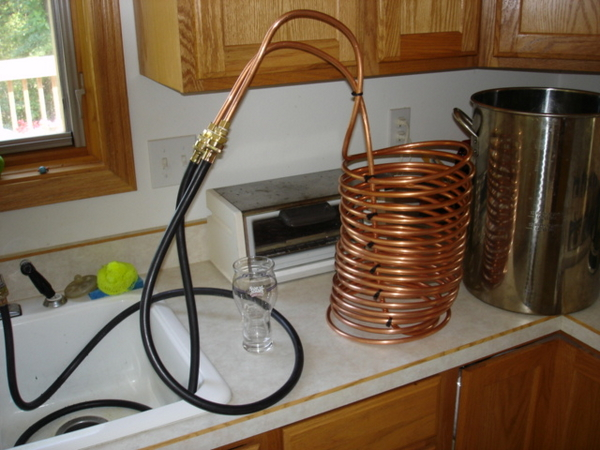 wort chiller hookup to sink The fermentap wort chiller is unlike any on the market today the coils have been specially positioned to be at the top of your wort, where the majority of the heat will be.