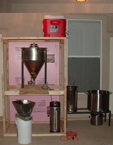 DIY Brew Closet | HomeBrewTalk com - Beer, Wine, Mead