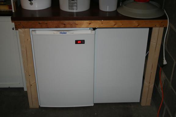 4 6 Cu Ft Fridge To 10 1 Cu Ft Fermentation Chamber