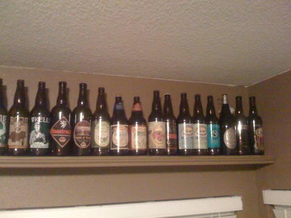 beer bottle shelves 3