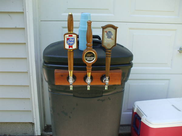Kool A Brew Can Coolers ~ Portable keg cooler beer brews brothers