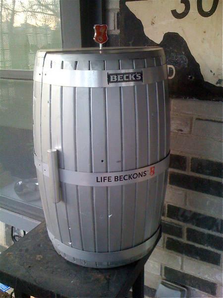 how to build a wine barrel kegerator