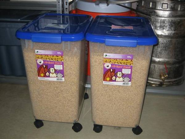 Grain storage containers HomeBrewTalkcom Beer Wine Mead