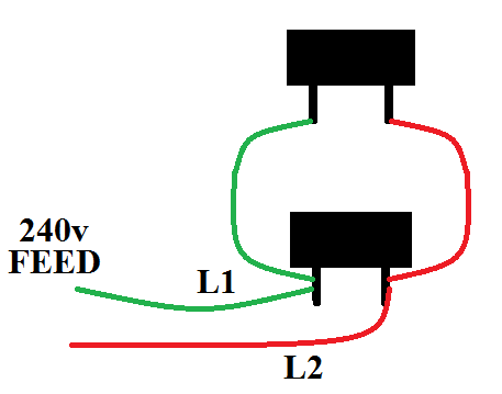 wiring element in series parallel help homebrewtalk com beer rh homebrewtalk com wire baseboard heaters in series wiring electric baseboard heaters in series
