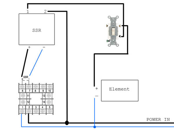 heating element switch question