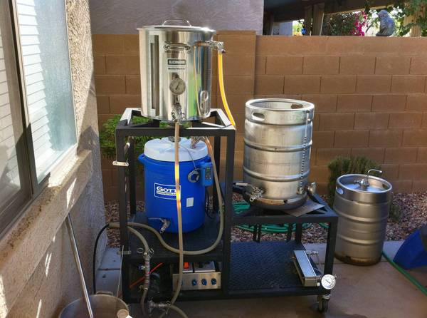 I Have A Burner Under The Mash Tun And Hlt Doubles As Electric Herms I M Glad I Have The Extra Clearances Though Because The Hlt Gets Hot If Either Of The