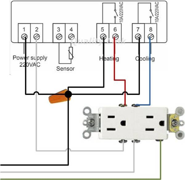 Stc 1000 Wiring Diagram Question