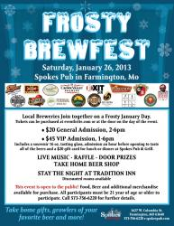 Frosty BrewFest on January 26th at Spokes Pub and Grill - Krystal_beer - frostybrewfest2013-45.jpg