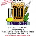 Grove City Lions Club Spring Craft Beer Fest