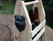 Wooden DIY 6 Pack Holder - From a Pallet!