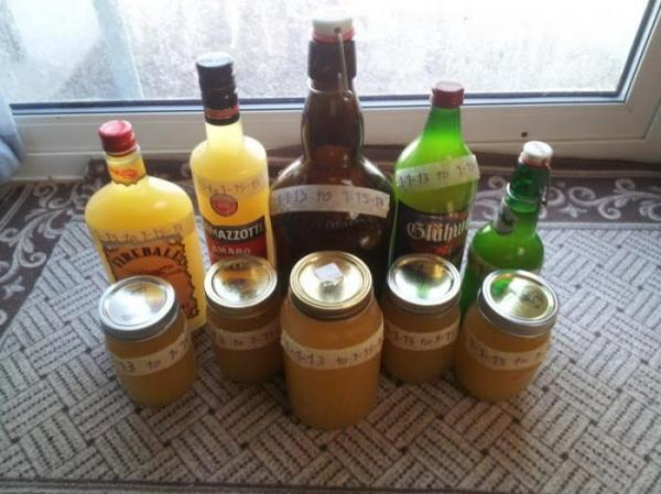 Cheapest Way To Make Cider - CiderOnTheCheap - first-batch-bottled-306.jpg