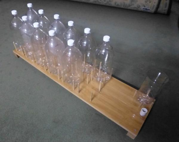 Bottling with plastic PET bottles - Peter Watson (aka Deeferdog) - jig-542.jpg