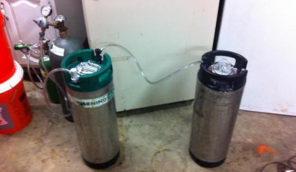 Wash them Kegs - The Mark II Keg Washer