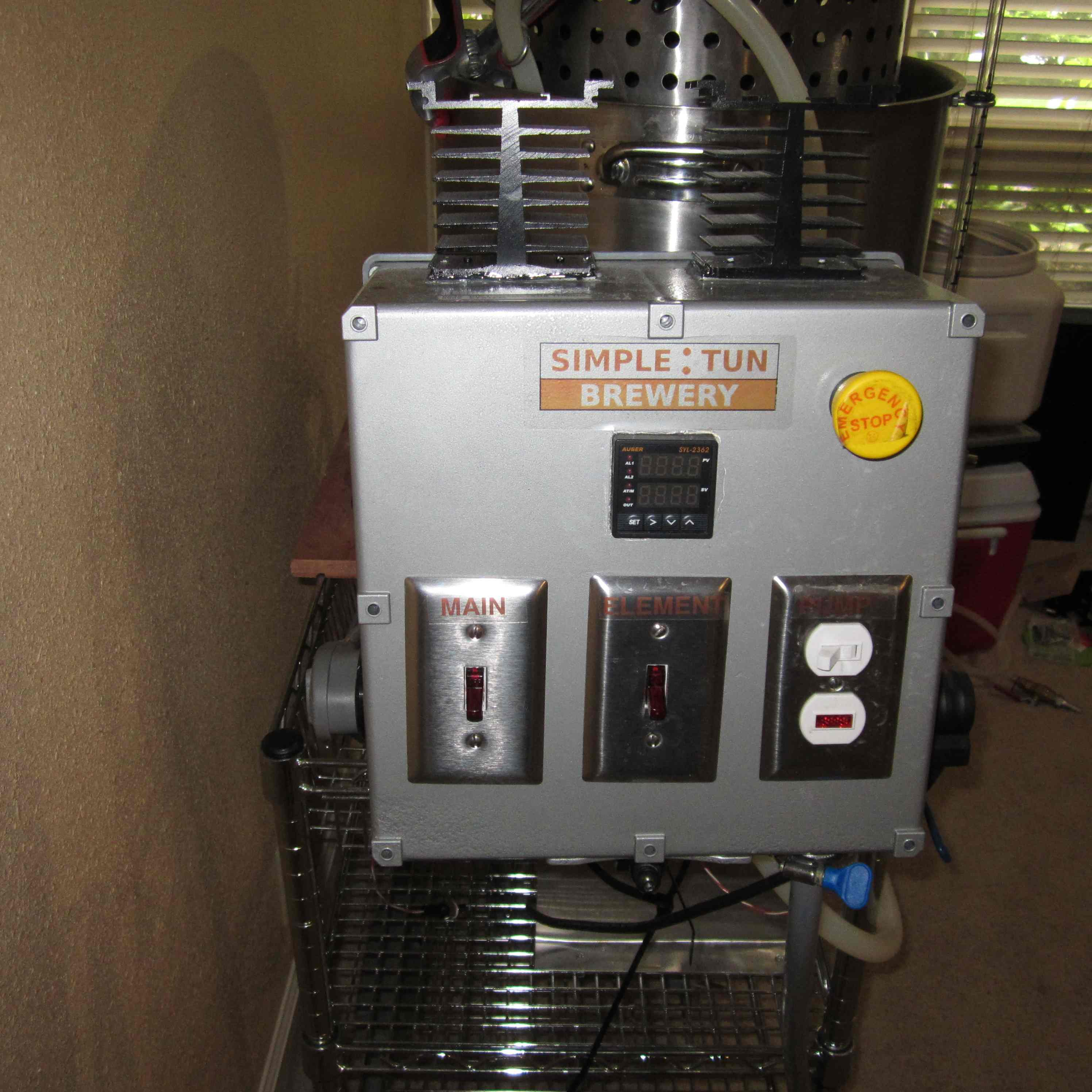 electric brewery control panel for sale  | homebrewtalk.com
