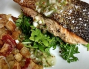 Food & Brew Pairing #1: Pan Seared Salmon with American Wheat Ale