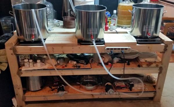 Three Vessel Induction Brewing System Homebrewtalk Com