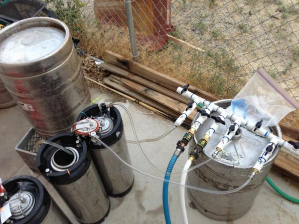 Two Methods For Cleaning Sankey Kegs Without A Pump
