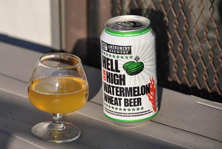 summer beer- watermelon wheat