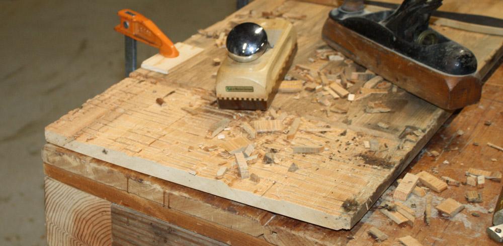 Fig-2_More-prepping-old-board-for-reinforcing-handle-laminate