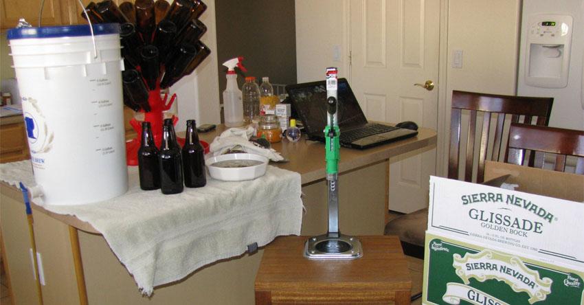 Bottling Day Setup