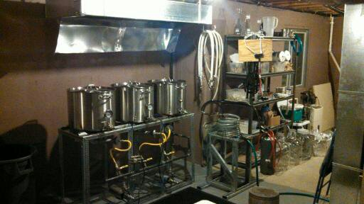 Brew Rig 10 Gallon Natural Gas Setup Homebrewtalk Com