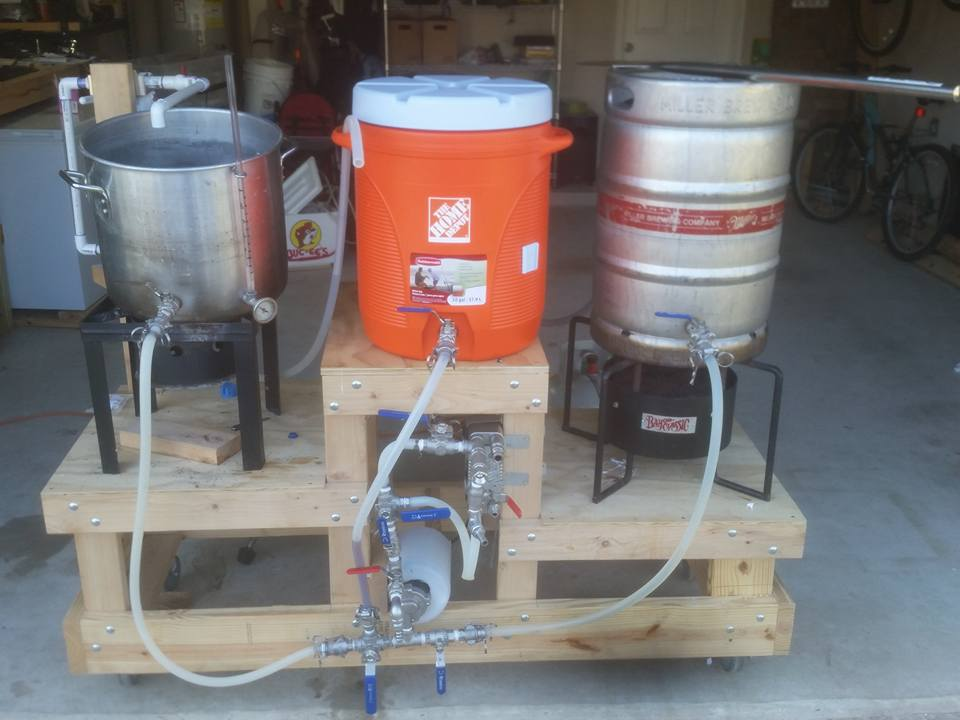 Brew Rig 2 Dogs Brewing Co Homebrewtalk Com