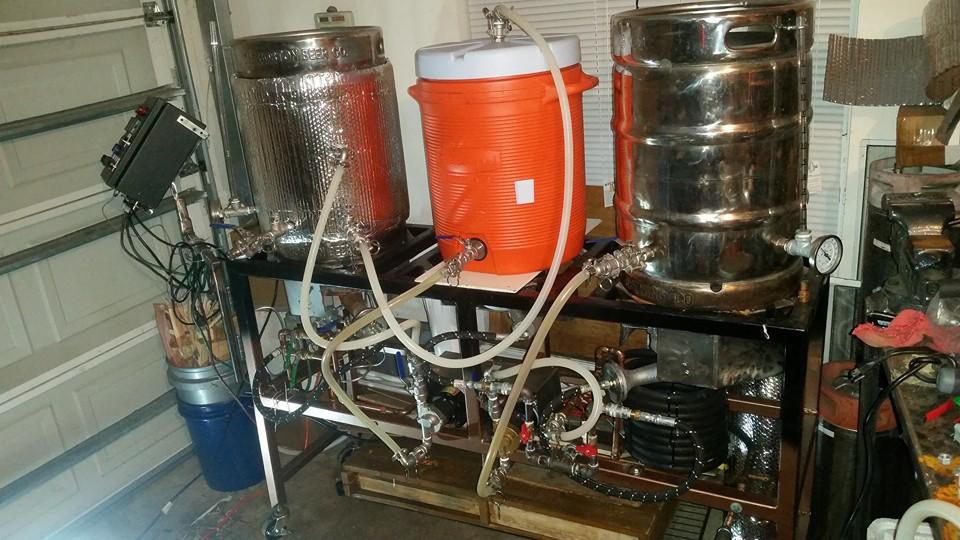 Brew Rig Gibralter Carbonics Single Tier Brewing System