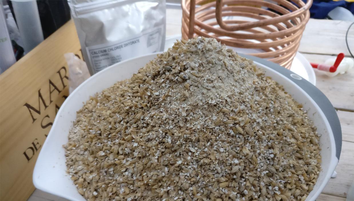 пшеничное зерно